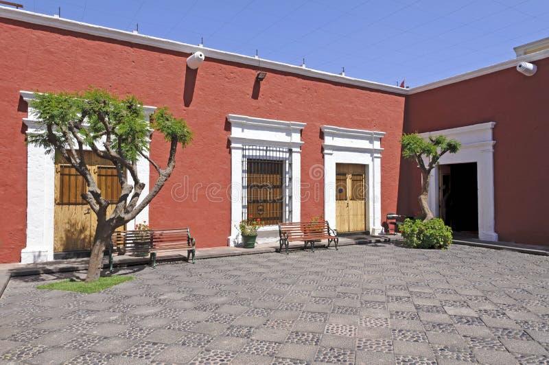 arequipa museum arkivbild
