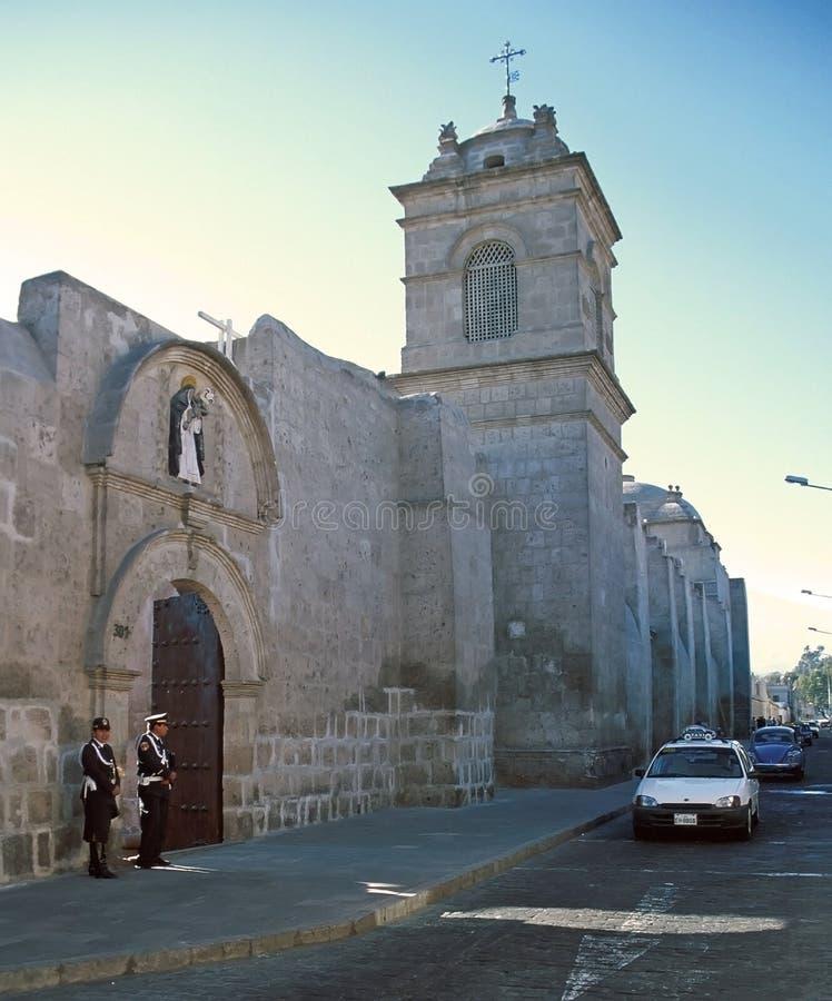Arequipa Sanktt Catherine kloster royaltyfria bilder