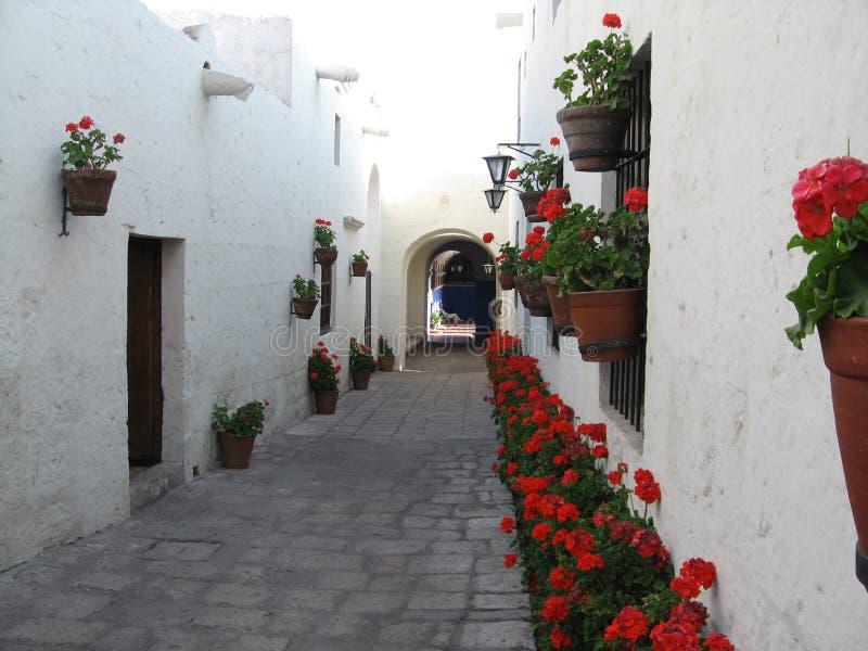 Arequipa - Santa Catalina fotografia stock libera da diritti