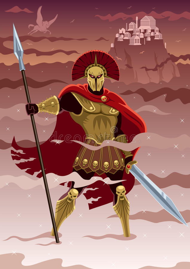 Ares ελεύθερη απεικόνιση δικαιώματος