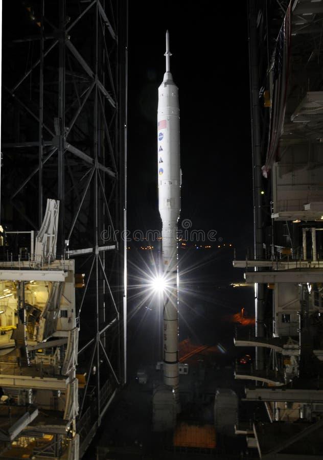 Ares IX raket royalty-vrije stock fotografie