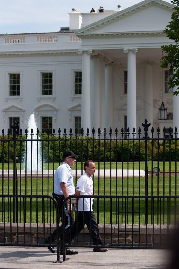 aresztujący kongresmenu imigraci wiec fotografia stock
