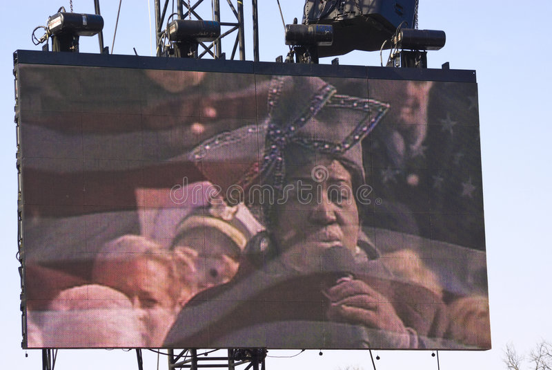 Aretha Franklin lizenzfreies stockbild