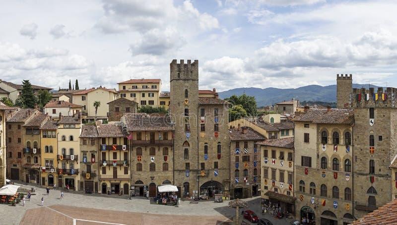 Arezzo obrazy royalty free