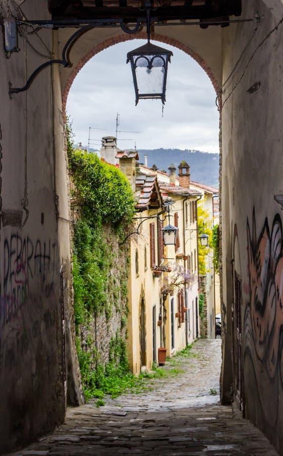 Arezzo dans le chianti en Toscane photographie stock