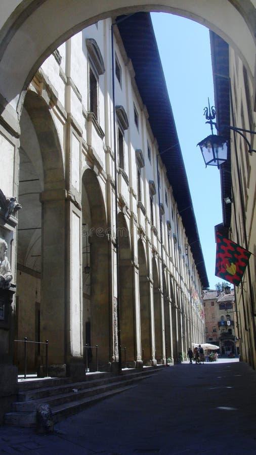 Arezzo, en Italie photographie stock