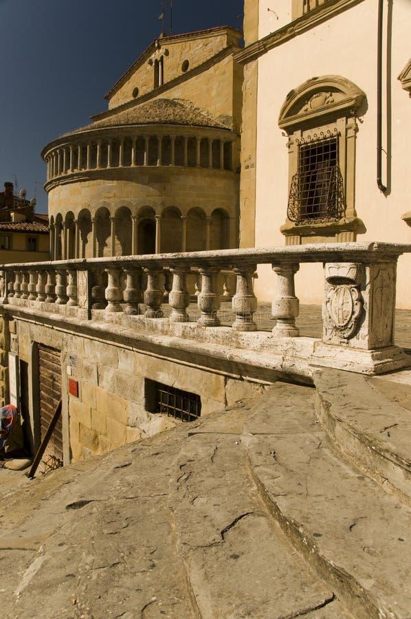Arezzo, Italië stock fotografie