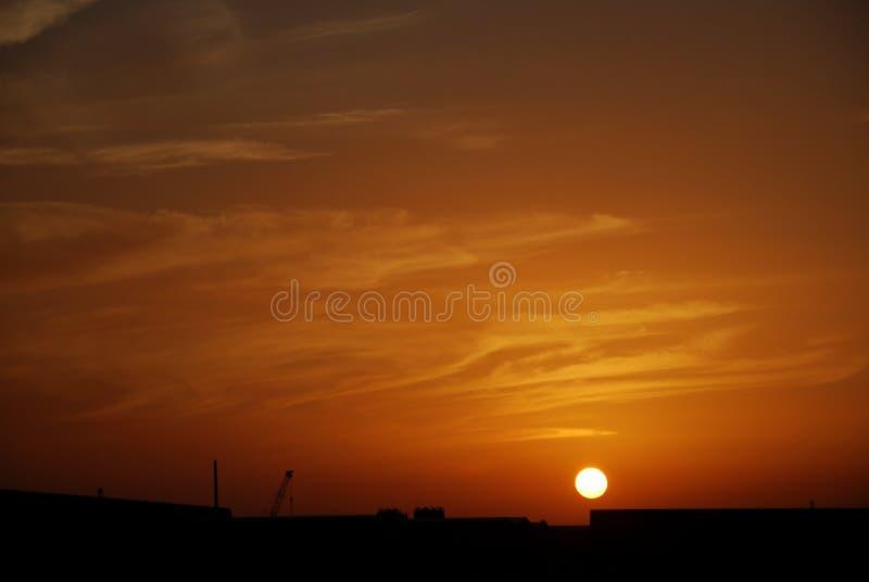 Arfternoon-Wolken lizenzfreies stockbild