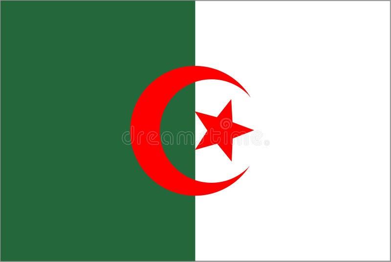 Argélia ilustração stock