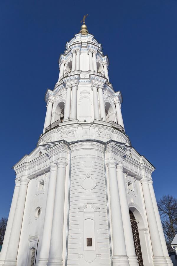 Arg Exaltationkloster för helgedom balkongdörrpoggioreale fördärvar poltava ukraine fotografering för bildbyråer