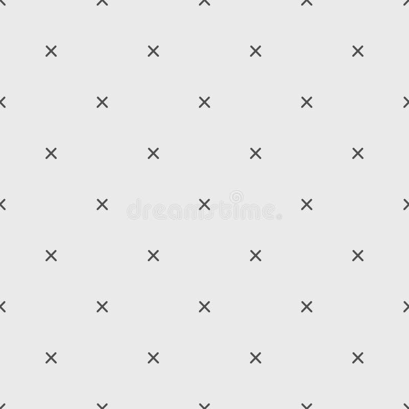 Arg geometrisk modell x stock illustrationer