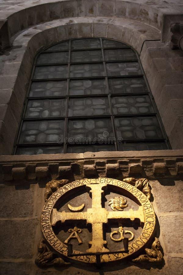 Arg invigning av templet av domkyrkan av Santiago royaltyfria bilder