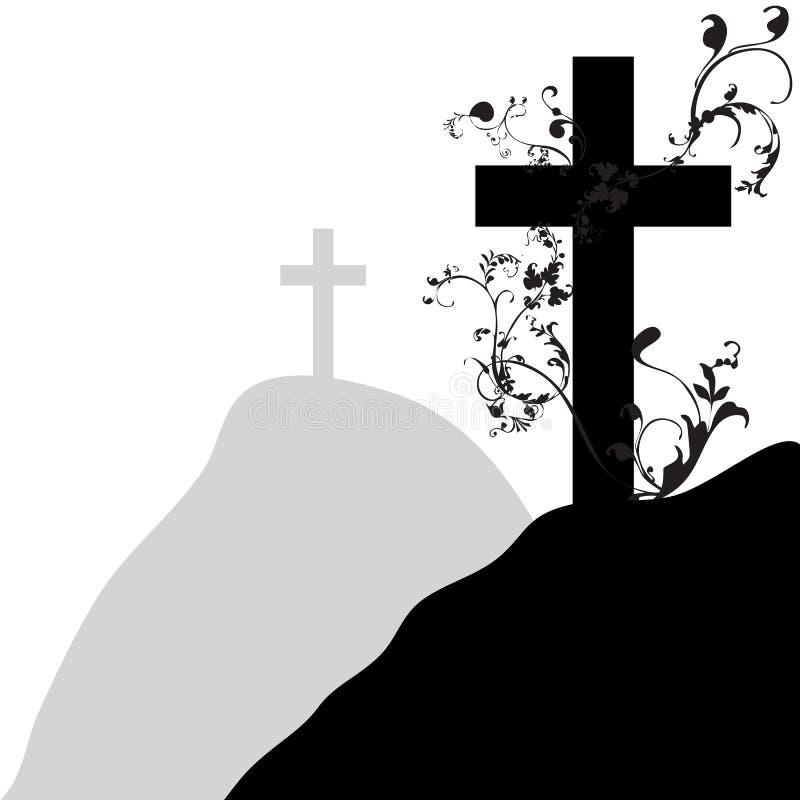 Arg kristen och växt 1 arkivbilder
