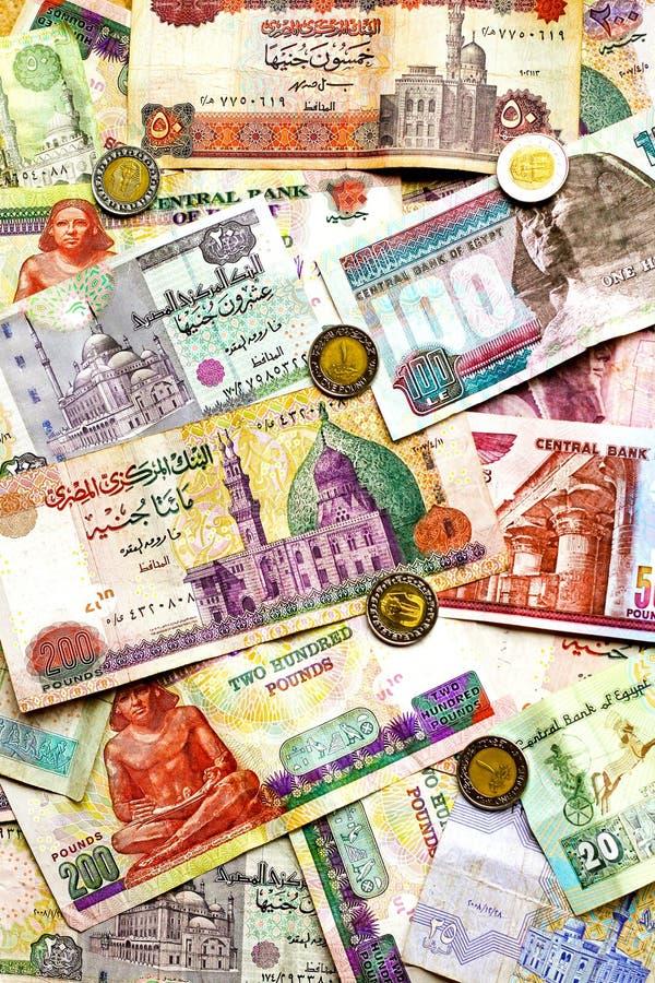 Argent égyptien image stock