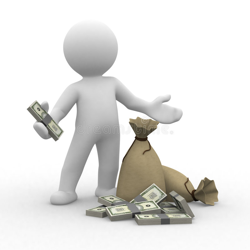 argent illustration libre de droits