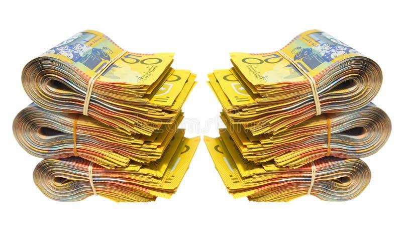 argent australien photographie stock libre de droits