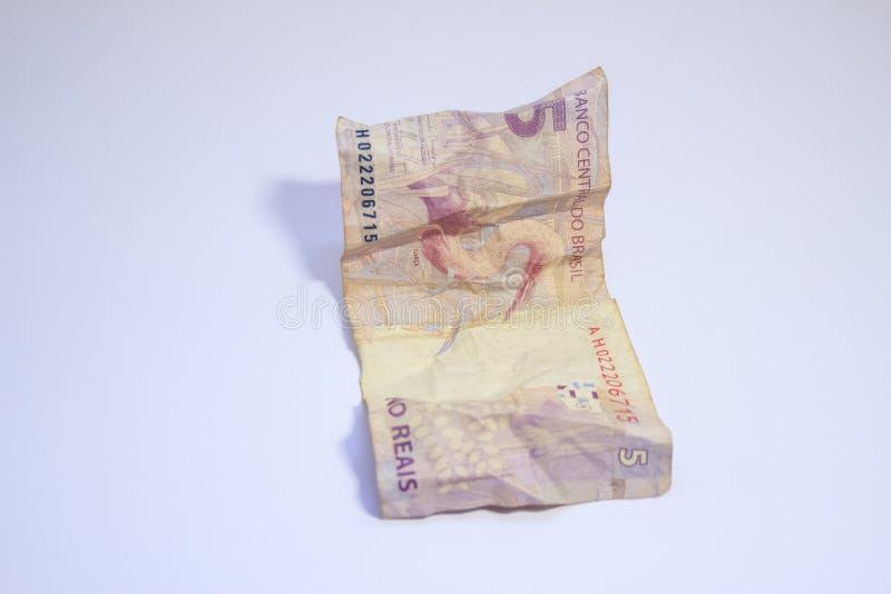 Argent br?silien de vraie sorte d'argent photo libre de droits