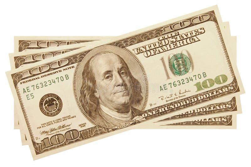 argent comptant $300 images stock