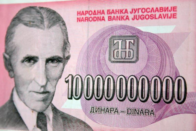 Argent comptant d'inflation photo libre de droits