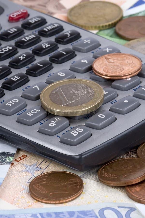 argent de calculatrice photos libres de droits