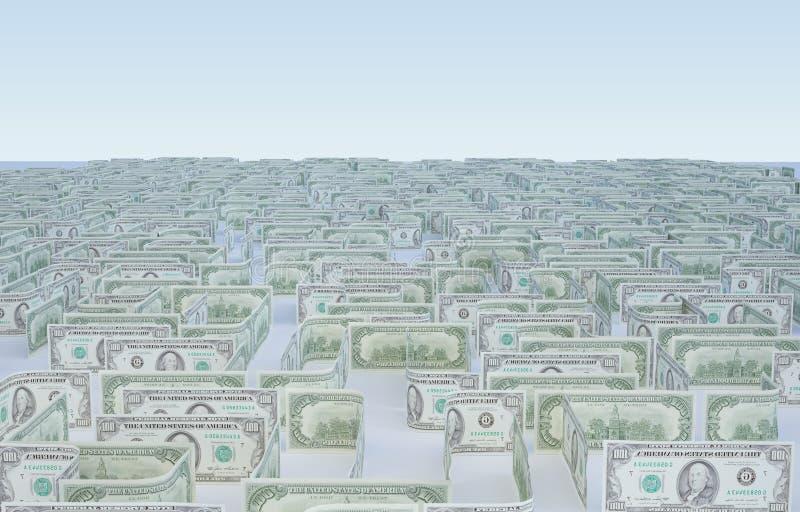argent de labyrinthe photos stock