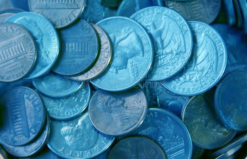 Argent de pièce de monnaie photo libre de droits