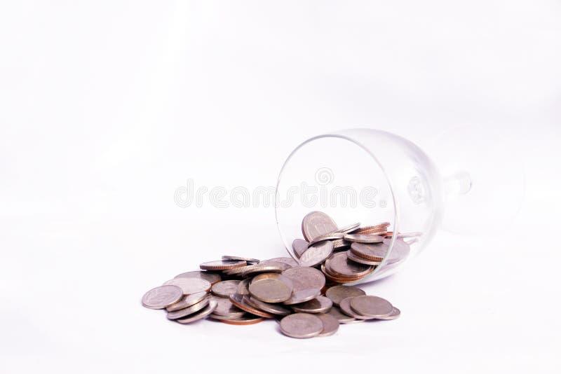 Argent de pièce de monnaie photos stock