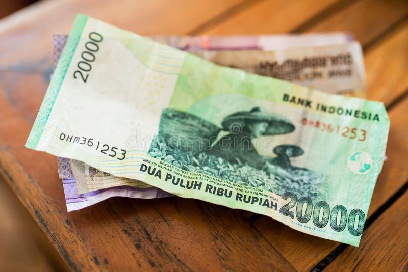 Argent de roupie indonésienne photos stock