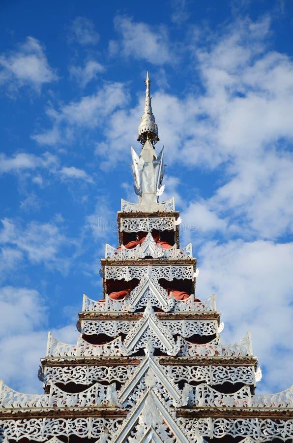 Argent de temple photos libres de droits
