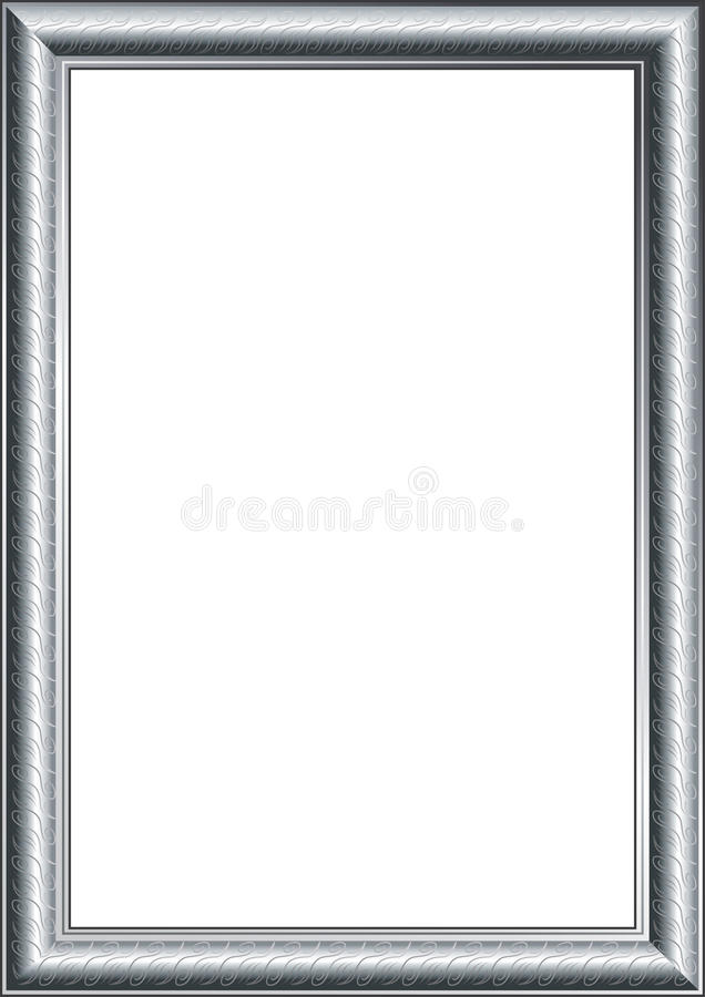 Argent de trame de photo illustration stock