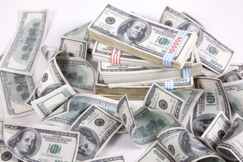 Argent (dollars) photographie stock libre de droits