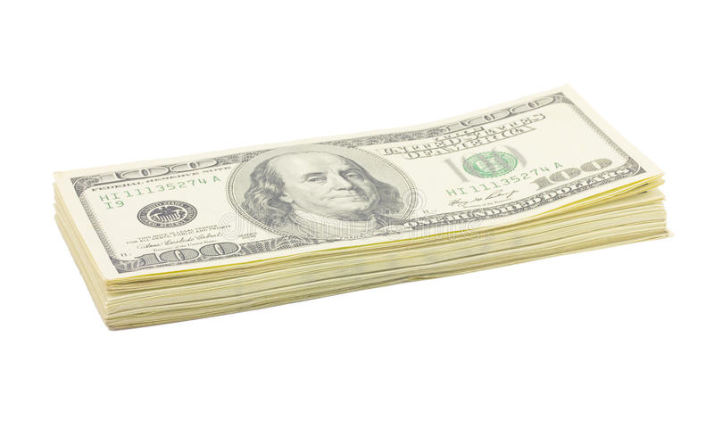 Argent, dollars photo stock