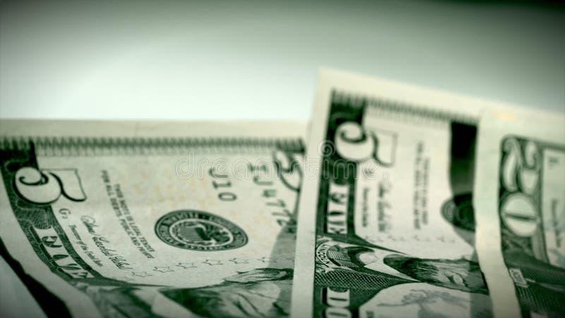 Argent du dollar passant par banque de vidéos