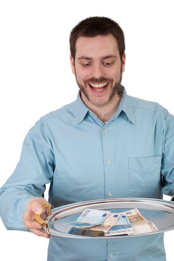 argent heureux photos stock