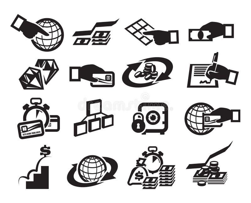 Argent. Illustration de vecteur illustration libre de droits