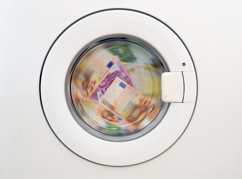 Argent laundring photo stock
