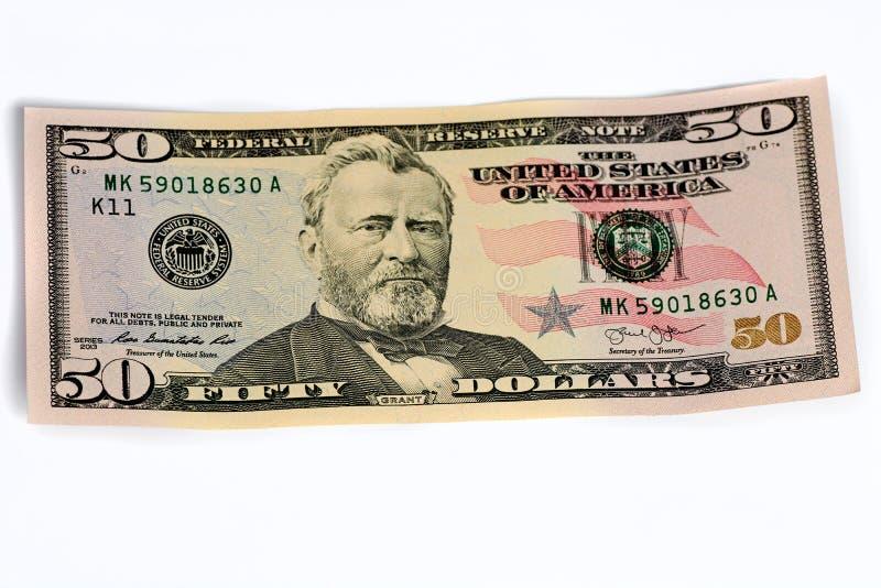 Argent liquide de note du dollar, fond du dollar Sort de cent billets d'un dollar en gros plan Dollars dans le portefeuille sur l photos stock