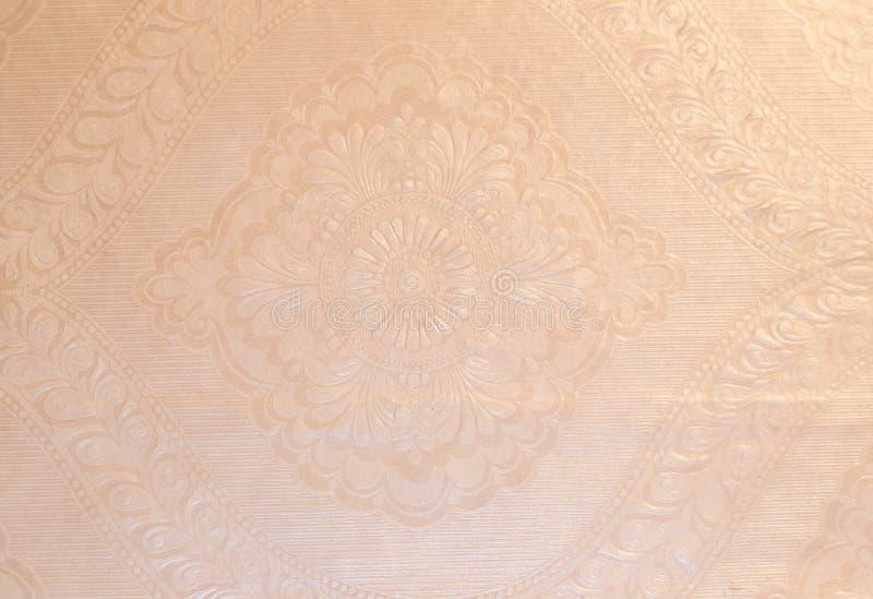 Argent papier peint rose illustration stock - Papier peint rose pale ...