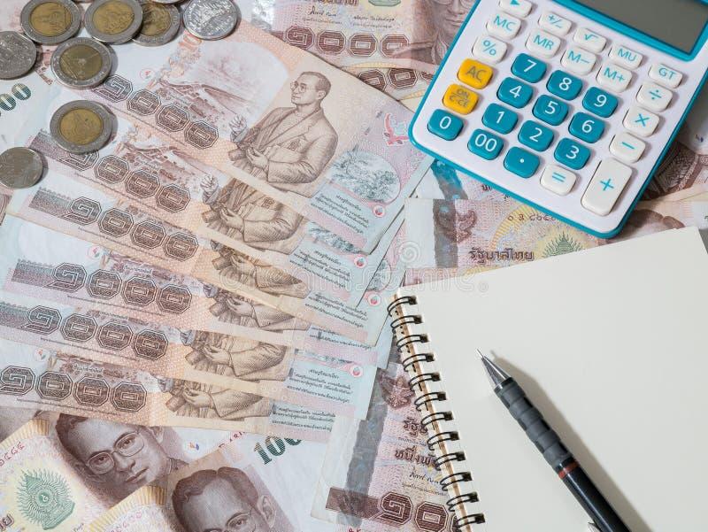 Argent thaïlandais - devise de baht thaïlandais image stock