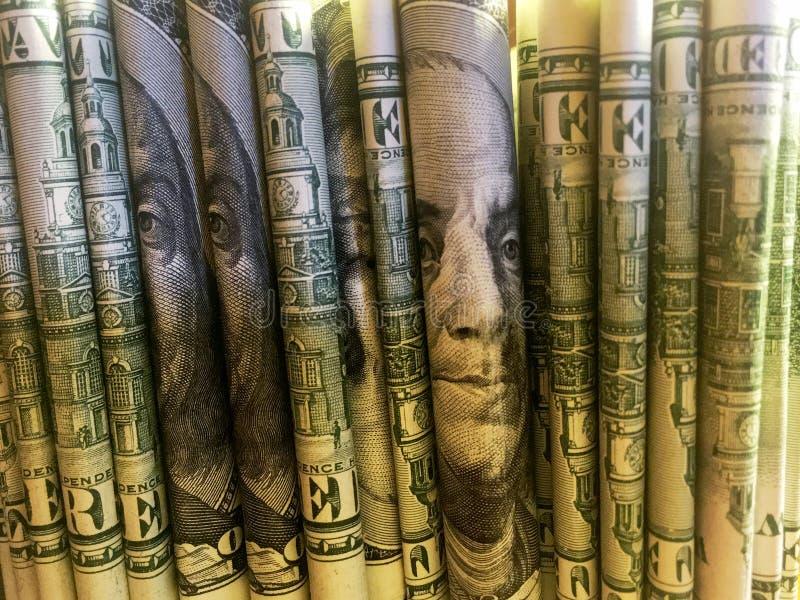Argent - USD photographie stock libre de droits