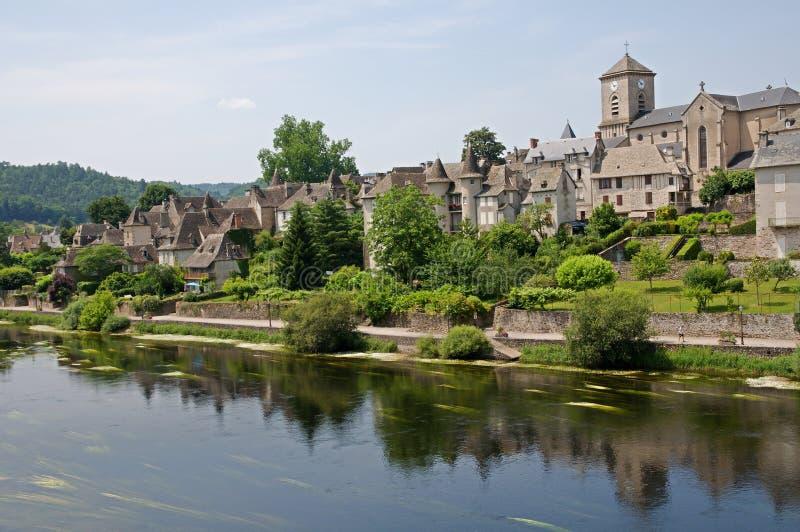 Argentat, França fotografia de stock