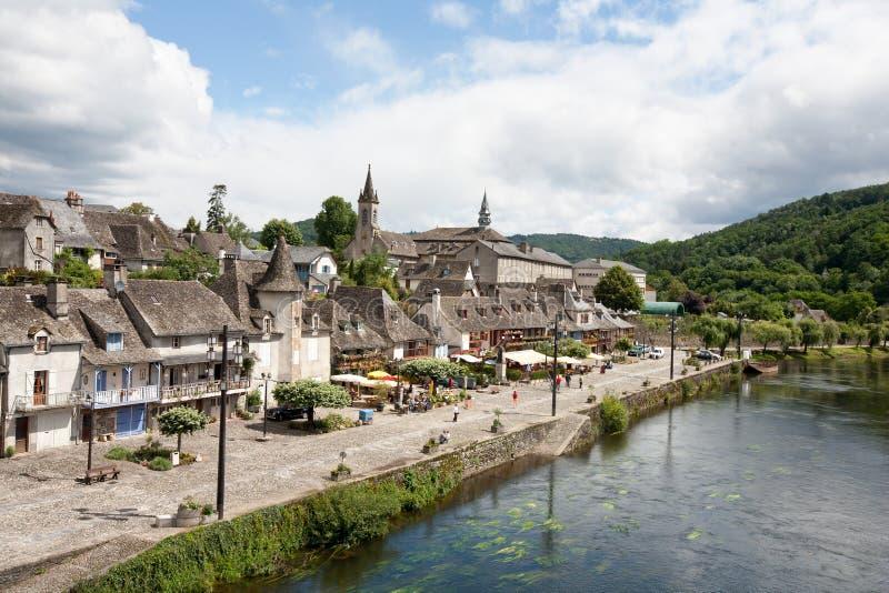 Argentat (le long de Dordogne) images libres de droits