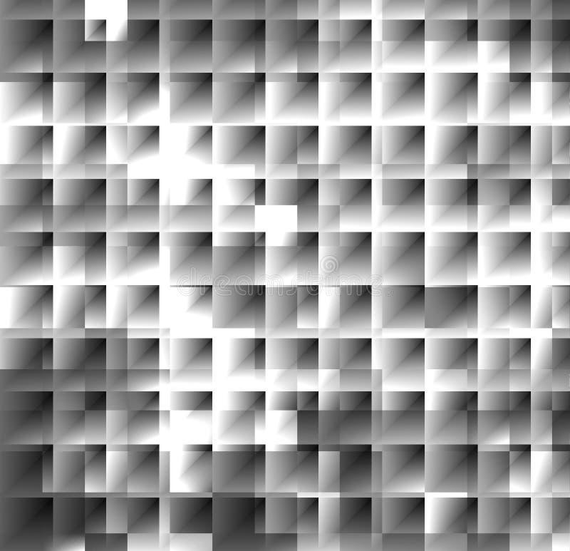 Argentez la mosaïque BG3 illustration de vecteur