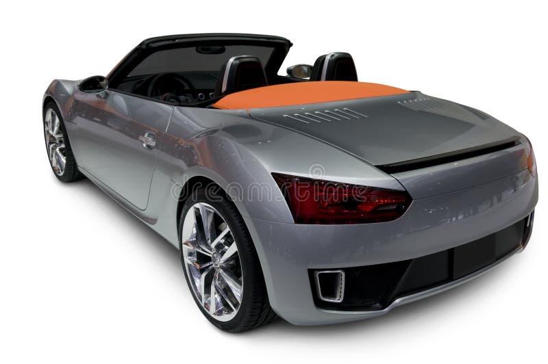 Argenti il Roadster immagine stock libera da diritti