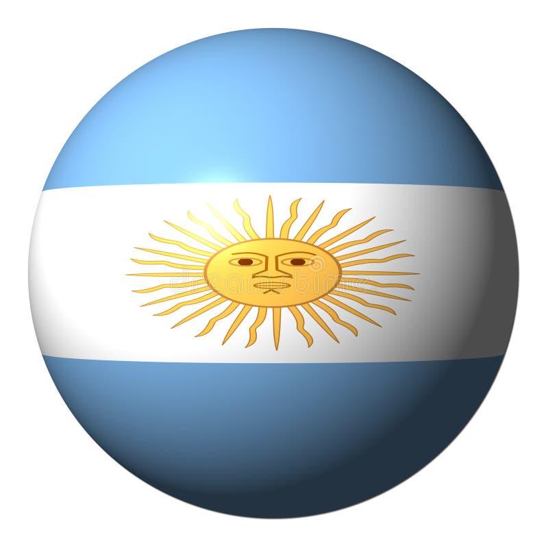 Argentijns vlaggebied royalty-vrije illustratie