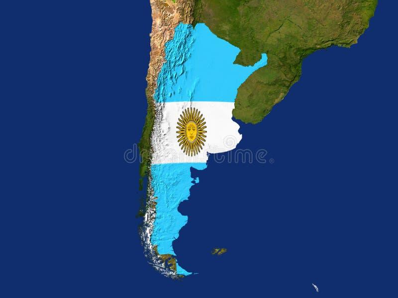 argentina royalty ilustracja