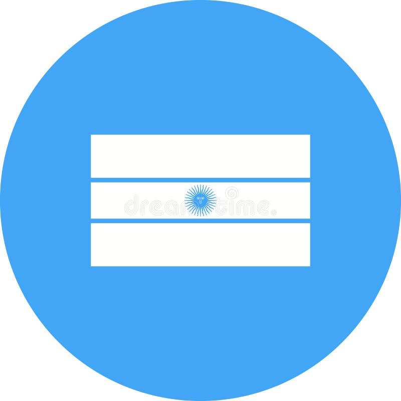 argentina ilustração royalty free
