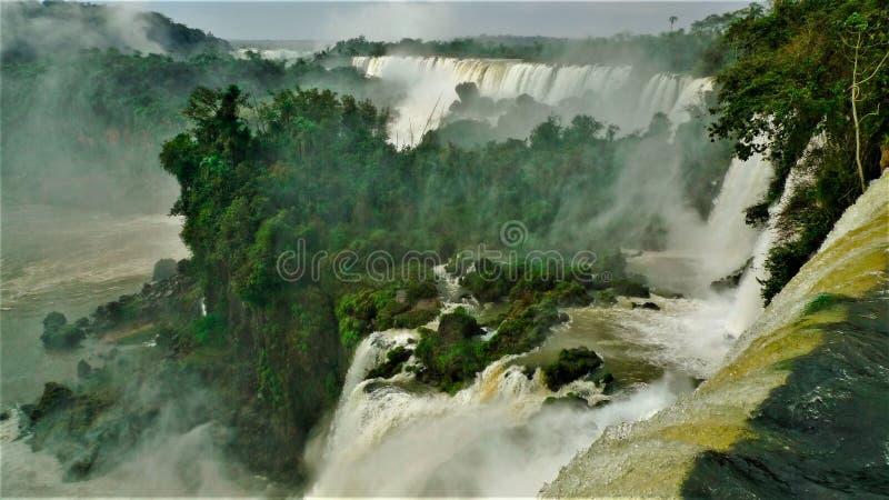 Argentina as cachoeiras de Iguazu foto de stock