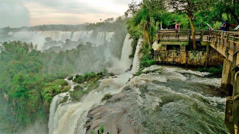 Argentina as cachoeiras de Iguazu foto de stock royalty free