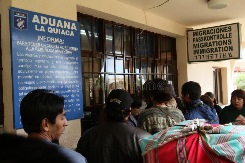 Argentina-Bolivian border royalty free stock photo